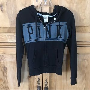 Pink Zip-up Sweatshirt